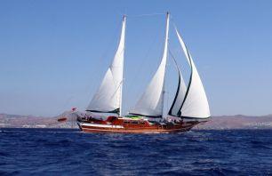 Sailing Schooner yacht